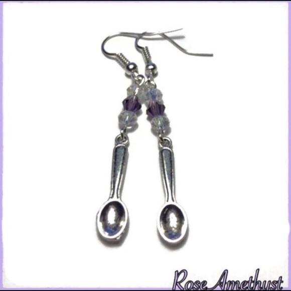 c14c5a931 Jewelry   Spoon Theory Awareness Earrings New   Poshmark